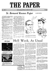 The Paper Vol. I No. 4 — Jan. 27, 1966