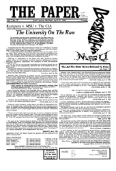 The Paper Vol. I No. 12 — Apr. 21, 1966