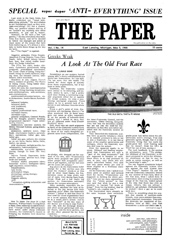 The Paper Vol. I No. 14 — May 5, 1966