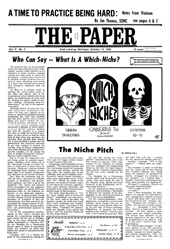 The Paper Vol. II No. 3 — Oct. 13, 1966