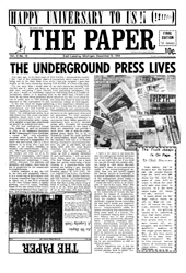 The Paper Vol. II No. 10 — Dec. 12, 1966