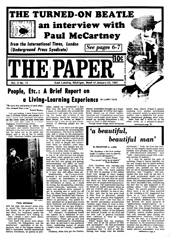 The Paper Vol. II No. 13 — Jan. 23, 1967