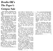 Breslin OK's The Paper's Campus Sale